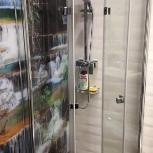 stylowy prysznic